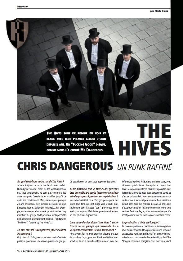 Chris Dangerous – Batteur Magazine n°260