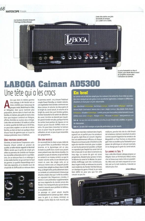 Caiman AD5300 Laboga – Guitar Part n°191