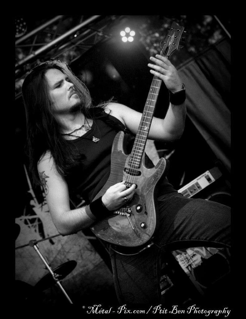 Nils Courbaron, Guitariste Amplis guitare Laboga Gewa