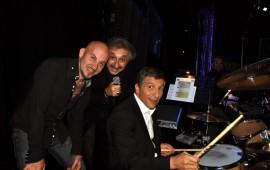 Richard Bertin, Gérard Pollicino & Nagui Fam