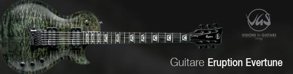 Guitares VGS Electrique Eruption Select Evertune