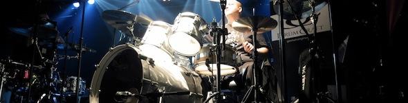 Gergo Borlai, batteur DrumCraft et Paiste, ouvre le bal à la Bag'Show!