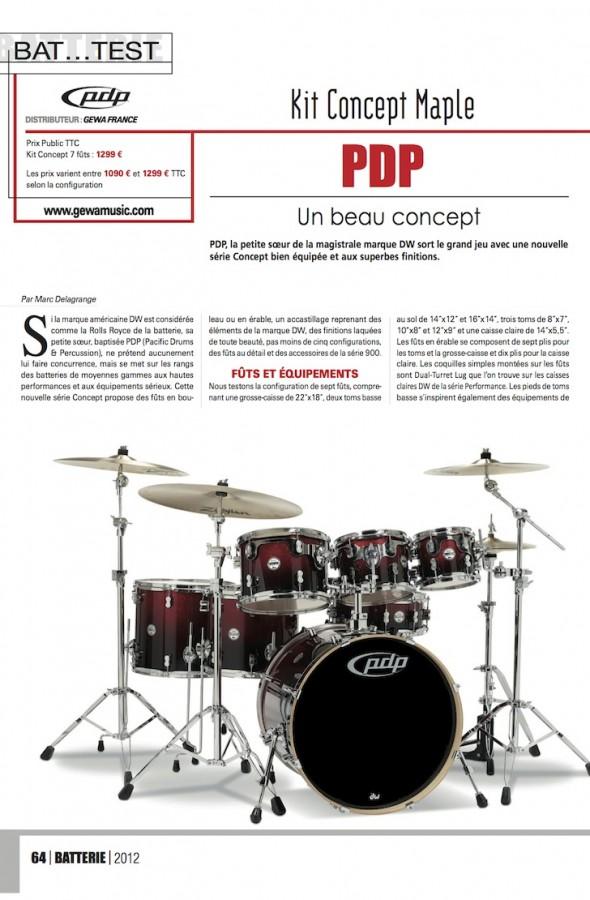 Set Concept PDP – Batterie Magazine n°94