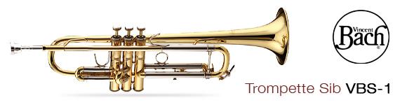 Trompette Vincent Bach VBS-1