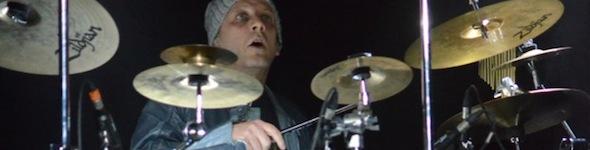 Claude Sarragossa, professeur et artiste batteur PDP/DW