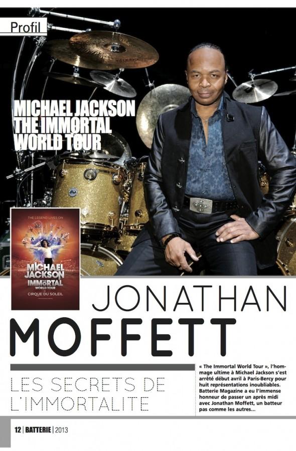 Jonathan Moffett – Batterie Magazine n°102