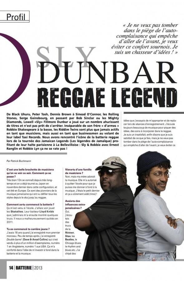 Dunbar – Batterie Magazine n°98