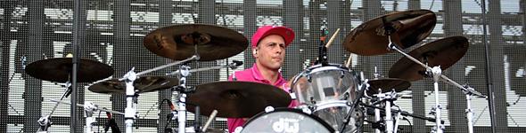 Greg Jacks en concert avec Superbus au Festival les Voix du Gaou