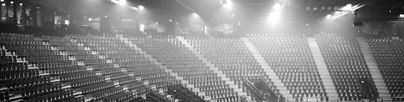 Francois Soulier, batteur d'Indochine, en concert à L'Arena de Montpellier