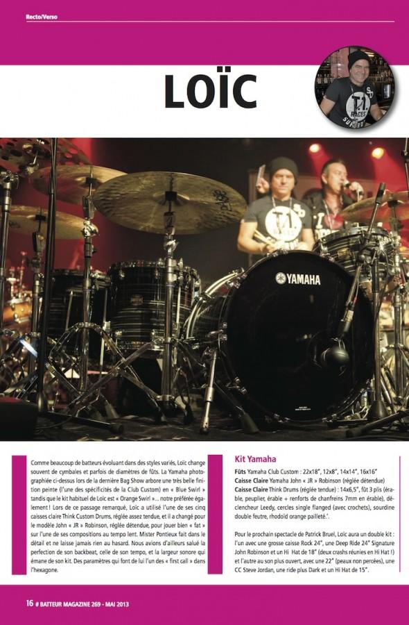 Loïc Pontieux – Batteur Magazine n°269
