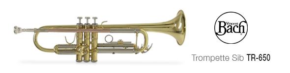 Trompette Bach Sib TR-650