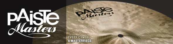 Cymbales Paiste Masters
