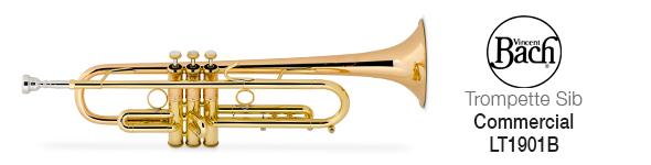 Trompette Bach Commercial Sib LT1901B