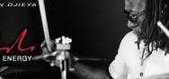 Christian Djieya essaie les Cymbales Paiste Signature Dark Energy