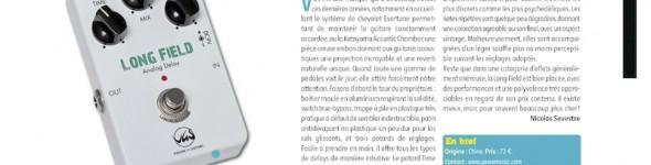 Long Field Delay Pédale d'Effet VGS – Guitar Part n°243