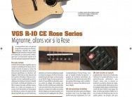 R-10 CE Rose VGS – Guitar Part n°243