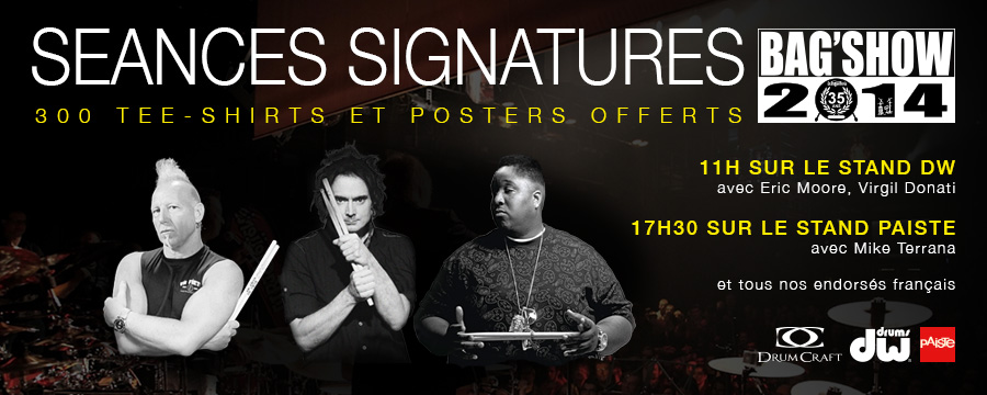 Bagshow 2014 - Paris 26 octobre Signatures