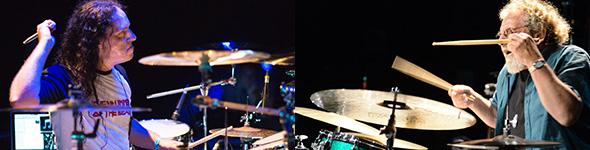 Drums Chelles Sessions 6 avec André Ceccarelli et Derek Roddy