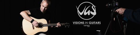 Nicolas Bravin signe pour les guitares VGS Belle Rose