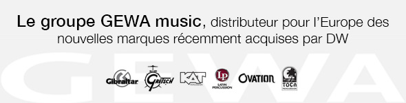 GEWA music, Distributeur des nouvelles marques de DW