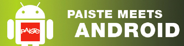 Application Paiste sur Android & Iphone, mise à jour