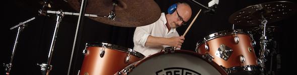 Denis Benarrosh, Live Test Cymbales Paiste et Batterie Gretsch Broadkaster