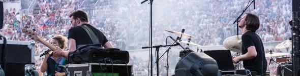 Jordi Geuens, batteur DW et Paiste, en Concert avec Selah Sue