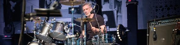 Philippe Entressangle, Artiste Batteur Gretsch, en Concert avec Cali