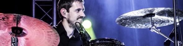 Olivier Pelfigues, artiste cymbales Paiste, Actualités de septembre 2015.