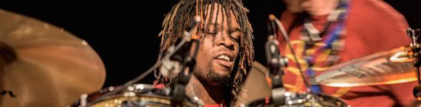 Thomas Pridgen (DW drums), Reportage dans les coulisses de la Bag'Show 2015