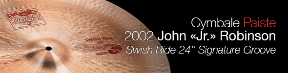 Cymbale Paiste 2002 24″ Swish Ride Signature Groove