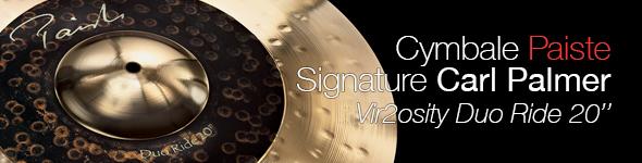 Cymbale Paiste Signature Vir2osity Duo Ride 20″ Carl Palmer