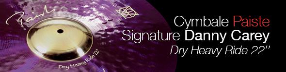 Cymbale Paiste Signature 22″ Dry Heavy Ride Monad Danny Carey