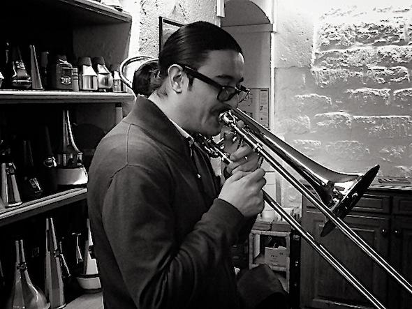 La Rosa, artiste trombone Artisan