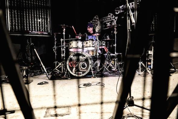 Job, batteur Paiste de Tagada Jones